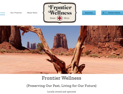 Web Project : My Frontier Wellness