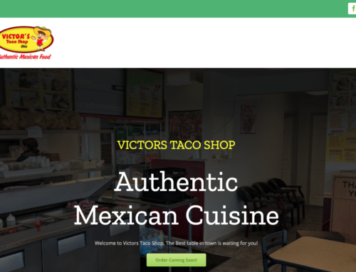 Web Project w/ Online Ordering : Victor's Taco Shop Huber Heights