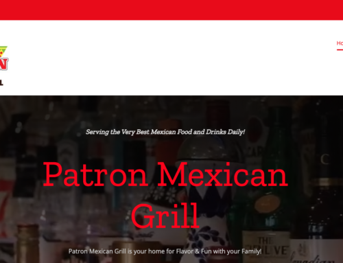 Web Project w/ Online Ordering : Patron of Florence